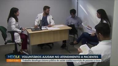 Estudantes de medicina ajudam no combate ao coronavírus - Paraná registra 97 casos da doença, segundo a Sesa.