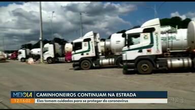 Governo reforça medidas para proteger caminhoneiros do coronavírus - Começa o toque de recolher em Cianorte. Os moradores não podem sair às ruas entre 21h e 5h.