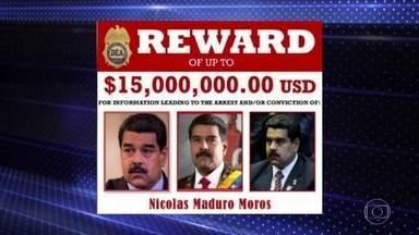 Estados Unidos abrem processo criminal contra Nicolás Maduro - Os americanos acusam o líder venezuelano de associação com o tráfico de drogas.