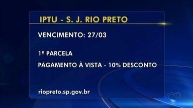 Tire as dúvidas sobre o pagamento do IPTU em Rio Preto - Tire as dúvidas sobre o pagamento do IPTU em Rio Preto.
