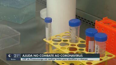 USP de Pirassununga vai realizar testes para identificar o coronavírus - Objetivo é diminuir a demanda no Instituto Adolfo Lutz em São Paulo.