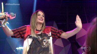 Claudia Leitte canta 'Extravasa' - Sucesso da cantora empolga todos no Altas Horas