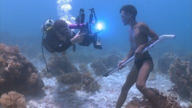 Domingão Aventura apresenta o 'Cigano do Mar' - João Paulo Kraievski desvenda os mistérios de uma população sub-aguática na Malásia
