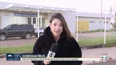 Governo se preocupa com a falta de estrutura das cidades - Sol Nascente só tem uma unidade para atendimento de saúde.