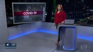 Governo de SP anuncia mais medidas para combater a COVID-19 - Entre as medidas repasse para hospitais controlados pelos municípios e kit alimentação para caminhoneiros
