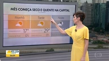 Veja a previsão do tempo para esta quarta-feira, 01/04/2020 - Veja a previsão do tempo para esta quarta-feira, 01/04/2020