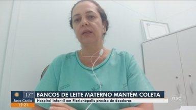 Hospital Infantil de Florianópolis faz apelo por doações de leite materno - Hospital Infantil de Florianópolis faz apelo por doações de leite materno