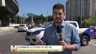 Prefeitura de Niterói vai controlar acesso à cidade - As novas medidas de restrição são para tentar conter o avanço da pandemia de covid-19