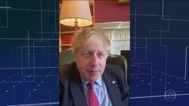 Boris Johnson é transferido para UTI para tratamento de Covid-19 - O primeiro-ministro britânico, de 55 anos, teve piora no quadro clínico e estaria em um hospital em frente ao Parlamento.