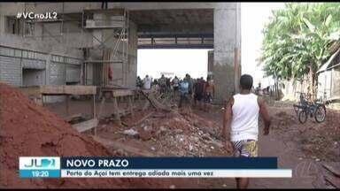 Entrega do novo Porto do Açaí, em Belém, é novamente adiada - Prevista para dezembro de 2019, conclusão foi transferida para março e agora tem novo prazo: segundo semestre.