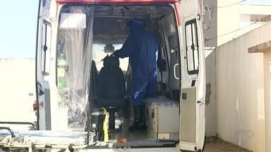 Ambulância em Votuporanga é preparada para receber pacientes com suspeita de coronavírus - Ambulância em Votuporanga é preparada para receber pacientes com suspeita de coronavírus.