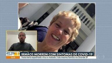 Mulher pode ter passado o coronavírus para parentes durante festa em Itapecerica da Serra - A mulher e dois irmãos morreram com sintomas da Covid-19.