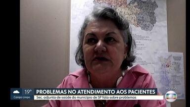 Secretária Adjunta da Secretaria de Saúde da Capital fala sobre falta de EPIs em hospitais - A secretária adjunta da Secretaria Municipal de Saúde de São Paulo, Edjane Maria Torreão Brito, fala sobre os problemas apontados por funcionários de hospitais.