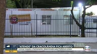 Justiça de SP proíbe fechamento de serviço social na Cracolândia - Liminar atendeu pedido da Defensoria Pública, que entrou com pedido para manutenção do Atende 2.
