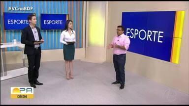 Carlos Ferreira comenta os destaques do esporte paraense nesta quinta-feira (9) - Carlos Ferreira comenta os destaques do esporte paraense nesta quinta-feira (9)