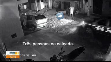 Imagens mostram confusão em abordagem policial - Caso aconteceu em Fagundes, Agreste da Paraíba.