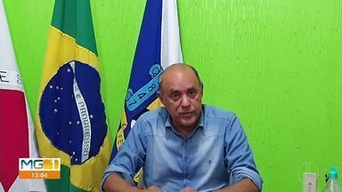 Prefeitura de Felixlândia instala barreiras sanitárias nas entradas da cidade - Barreiras foram colocadas em três pontos do município. O objetivo é conter a disseminação do novo coronavírus.