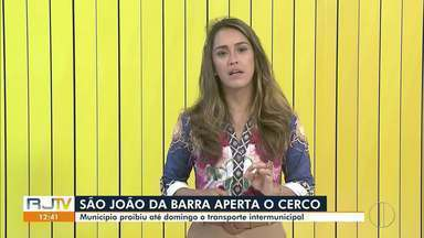 São João da Barra, RJ, proíbe transporte intermunicipal - Medida vale até este domingo (12).