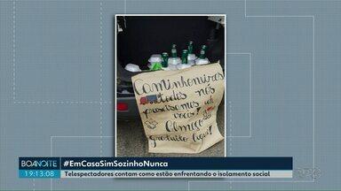 Moradores de Reserva distribuem marmitas para caminhoneiros - E professores e funcionários da Escola José Bonifácio deixam um recado para os alunos neste período de pandemia.