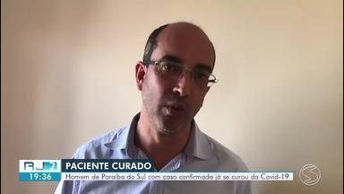 Homem diagnosticado com Covid-19 em Paraíba do Sul está curado - Paciente era um dos três casos confirmados no município.