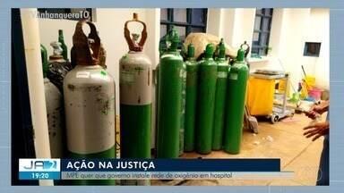 MPE quer que o governo instale rede de oxigênio no Hospital Regional de Augustinópolis - MPE quer que o governo instale rede de oxigênio no Hospital Regional de Augustinópolis