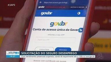 Com atendimentos presenciais suspensos, seguro desemprego pode ser solicitado por telefone - Usuário pode ligar para o número 158 ou entrar no endereço www.gov.br.