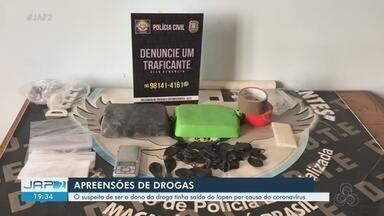 Polícia Civil do Amapá faz série de apreensões de drogas em Macapá e Santana - Polícia Civil do Amapá faz série de apreensões de drogas em Macapá e Santana