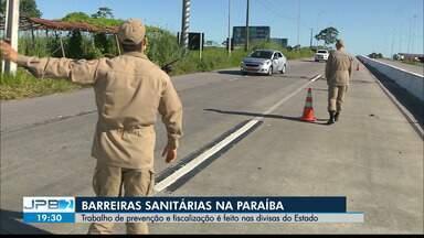 JPB2JP: Barreiras sanitárias na Paraíba - Trabalho de prevenção e fiscalização é feito nas divisas do Estado.