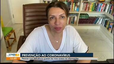 Veja como pessoas com deficiência estão enfrentando o período de quarenta na Paraíba - Auxílio.