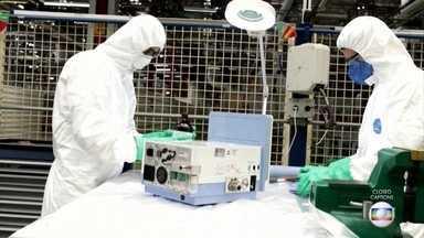 Conheça o plano das montadoras para consertar respiradores quebrados - Conheça o plano das montadoras para consertar respiradores quebrados.