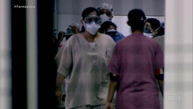 Brasil registra mais 99 mortes e chega a 1.223, diz Ministério da Saúde - O Ministério da Saúde divulgou, neste domingo (12), um novo levantamento com o número de casos da Covid-19 no Brasil.