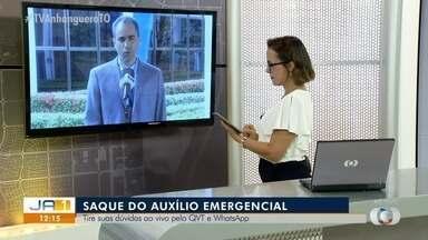 Superintendente da Caixa tira dúvidas sobre o saque emergencial - Superintendente da Caixa tira dúvidas sobre o saque emergencial