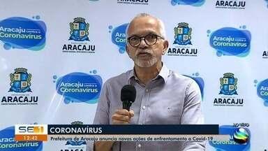 Prefeito de Aracaju fala sobre liberação das feiras livres e aumento de leitos da capital - Prefeito de Aracaju fala sobre liberação das feiras livres e aumento de leitos da capital.
