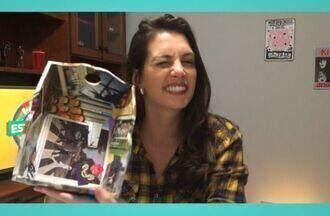 Monte novos acessórios para sua casa através de colagens fáceis, baratas e criativas - A comunicadora Camila Barbieri ensinou algumas dicas especiais para você!