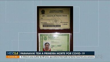 Paranavaí tem a primeira morte por Covid-19 - Uma mulher de 40 anos, que estava internada há 7 dias na Santa Casa, morreu na manhã desta terça-feira.