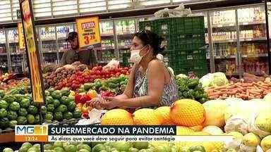Infectologista dá dicas de cuidados com compras de supermercado - Devido a pandemia do COVID-19, os cuidados são necessários com alimentos comercializados em mercados.
