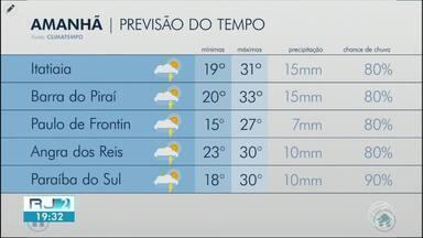 Quarta-feira será dia abafado no Sul do Rio - Sol deve aparecer entre nuvens e há possibilidade de pancadas de chuva à tarde e à noite.