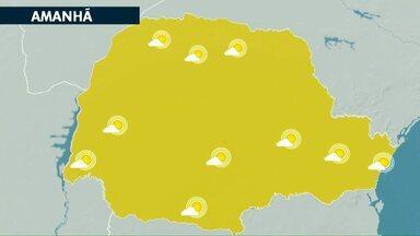 Frente fria trouxe chuva pro Paraná neste início de semana - Nos próximos dias a condição é de tempo aberto para todo o estado.