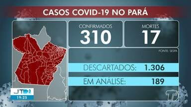 Acompanhe o número de casos de coronavírus no Pará - Em Santarém, são 13 casos confirmados.