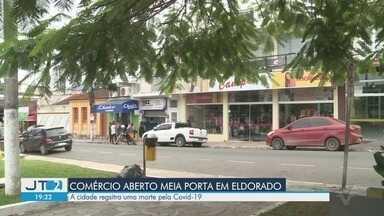 Decreto em Eldorado permite que comércios abram caso atendimento seja feito na porta - Clientes não podem entrar no estabelecimento. A cidade do Vale do Ribeira tem uma morte registrada.