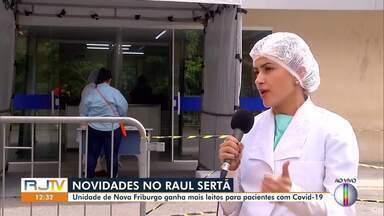 Unidade de saúde de Nova Friburgo, RJ, ganha mais leitos para pacientes com Covid-19 - Pacientes passarão por uma triagem ao procurar a unidade.