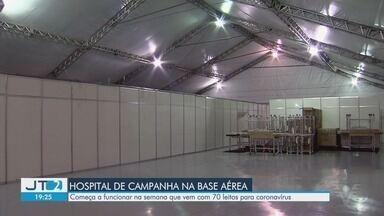 Guarujá vai ter hospital de campanha funcionando na Base Aérea - Começa a funcionar na semana que vem com 70 leitos para coronavírus.