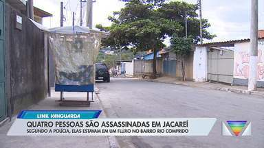 Chacina deixa quatro mortos e quatro baleados em Jacareí - Veja a reportagem.