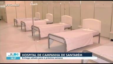 Governo do Pará entrega hospital de campanha em Santarém na segunda-feira, 20 - Governo do Pará entrega hospital de campanha em Santarém na segunda-feira, 20