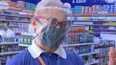 Moradores de Marília descumprem decreto do uso de máscaras no primeiro dia - Este sábado foi o primeiro dia de uso obrigatório de máscaras em Marília, mas nem todos respeitaram.