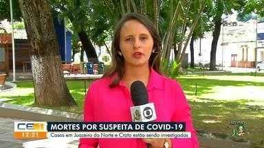 Mortes por suspeita de COVID-19 em Juazeiro do Norte são investigadas - Saiba mais em g1.com.br/ce