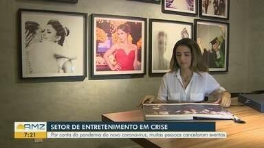 No Amazonas, setor de entretenimento entra em crise durante pandemia da Covid-19 - Muitos eventos estão sendo adiados e outros cancelados.