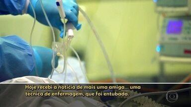 Estado de São Paulo tem 1.037 mortes confirmadas pela Covid-19. - Situação continua crítica nos hospitais. Funcionários denunciam superlotação e falta de equipamentos de proteção.