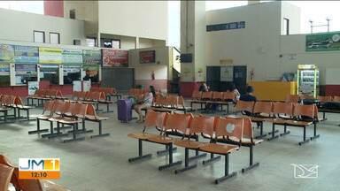 Terminal Rodoviário de Imperatriz é fechado - Apenas viagens para cidades do interior do estado estão autorizadas.