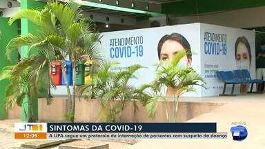 UPA 24h segue protocolo de atendimento a pacientes suspeitos de coronavírus em Santarém - Saiba em que casos pessoas são internadas. Secretária de Saúde, Dayane Lima, explica atendimentos na unidade.
